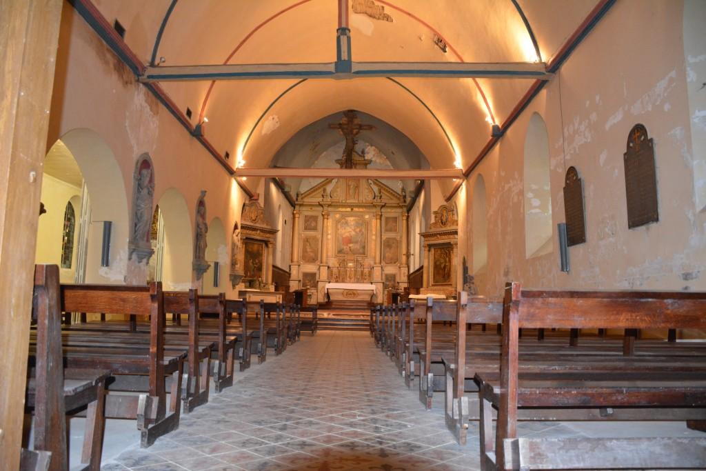 Restauration de l'Église St Jean situation en mars 2017