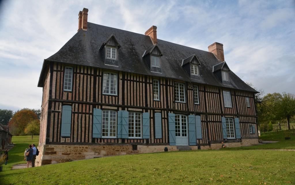 Le Manoir de Cauvigny où Charlotte venait voir ses grands-parents paternels.