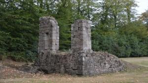 Vestiges du premier Château