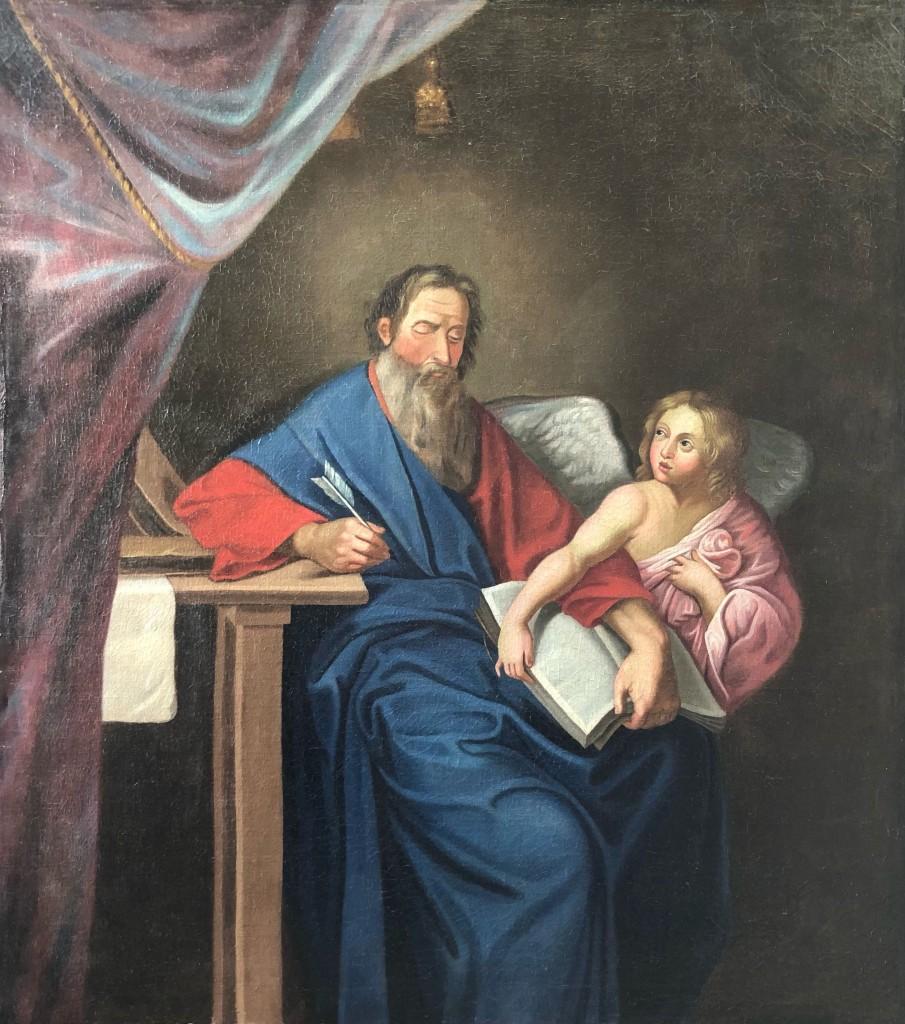 Retour de restauration de tableaux de l'église St Jean